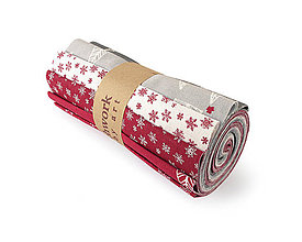 Textil - Bavlnené látky - rolka Christmas 6 - 11210695_