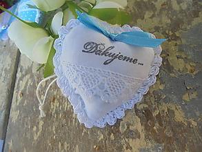 Darčeky pre svadobčanov - Srdiečko do dlane-svadobné - 11211974_