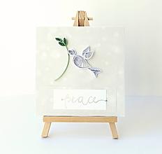 Papiernictvo - vianočná pohľadnica - 11211495_