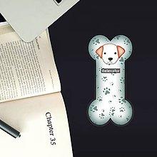 Papiernictvo - Psia záložka do knihy - labky - 11212024_