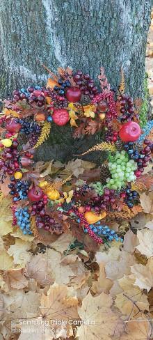 Dekorácie - Farebný jesenný - 11215402_