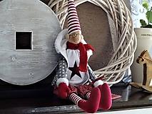 Bábiky - Vianočný škriatok - 11214595_