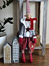 Bábiky - Vianočný škriatok - 11214596_