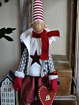 Bábiky - Vianočný škriatok - 11214599_