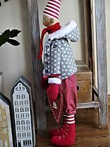 Bábiky - Vianočný škriatok - 11214600_