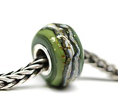 Náramky - Jesenné farby olivova pandorka /ch-245 - 11215832_