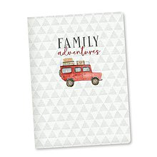 Polotovary - Art journal We are family, A5 - 11214498_