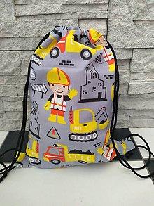 """Detské tašky - Batoh """"S"""" stavbár - 11214608_"""