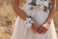 """Náramky - Kvetinový náramok """"tak krásne ráno"""" - 11216078_"""