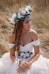 """Ozdoby do vlasov - Kvetinový boho venček """"tak krásne ráno"""" - 11216091_"""