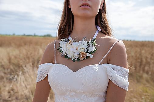 """Kvetinový náhrdelník """"tak krásne ráno"""""""