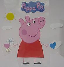Galantéria - Nažehľovačka Peppa Pig - 11215857_