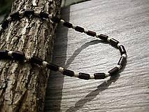 Kurzy - Domáci VIDEOKURZ aj s materiálom - vyrob si pánsky drevený náhrdelník - 11215271_
