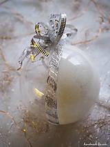 Dekorácie - LEVANDULOVÉ vianočné gule s 3D fotkou - 11214707_