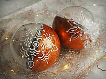 Dekorácie - POMARANČOVÉ vianočné gule s 3D fotkou - 11214771_
