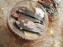 Dekorácie - POMARANČOVÉ vianočné gule s 3D fotkou - 11214772_
