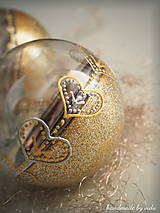 Dekorácie - POMARANČOVÉ vianočné gule s 3D fotkou - 11214784_