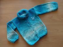 Detské oblečenie - Svetr pletený dětský - 11214422_