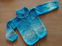 Detské oblečenie - Svetr pletený dětský - 11214423_