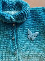 Detské oblečenie - Svetr pletený dětský - 11214426_