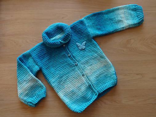 Svetr pletený dětský