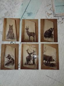 Kresby - Poľovnícke obrazy - 11215324_