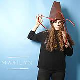Veľké tašky - Dámská taška MARILYN BROWN CHILLI - 11215981_