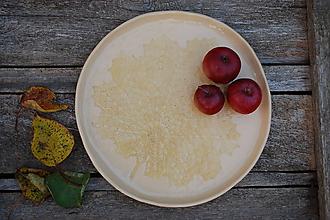 Nádoby - Keramický tanier javorový - 11213866_