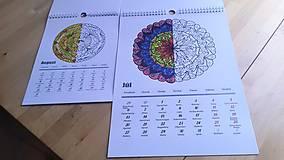 Knihy - Autorský kalendár mandaly na rok 2020 A3 - 11214331_