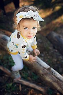 Detské doplnky - Čelenka zmrzlina - 11219167_