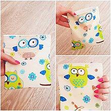 Úžitkový textil - mini vrecúško - 11217530_