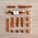 Svietidlá a sviečky - Škorica vonný vosk - silica - 11218369_