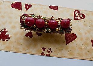Úžitkový textil - Vianočný obrus - štóla 109 x 40 - 11217108_