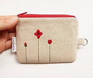 Peňaženky - Peňaženka/dokladovka - Mak vlčí - 11217618_