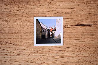 Papiernictvo - Fotonálepka - Bratislava - na zápisník DENNÉ ZÁPISKY - 11218494_