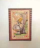 Papiernictvo - Fotoalbum * leporelo na 16 foto 10*15 cm Alenka v krajine zázrakov - 11217542_