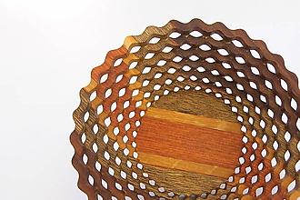 Nádoby - Drevená miska 15cm - 11217009_