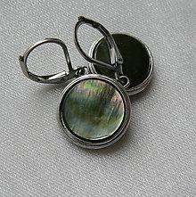 Náušnice - Perleťky - 11218031_