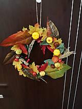 Obrazy - Jesenny venček - 11217573_