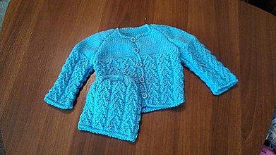 Detské oblečenie - Kojenecká souprava chlapecká - 11217356_