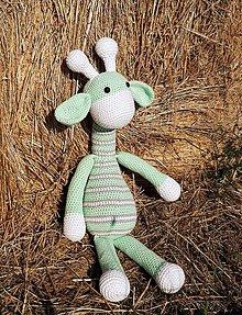 Hračky - Žirafka - 11218451_