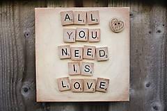 Obrázky - Drevený Scrabble obrázok - 11217155_