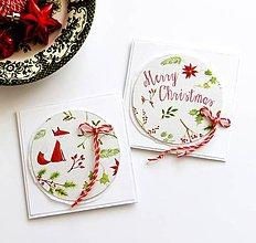 Papiernictvo - Vianočné pohľadnice - 11220049_