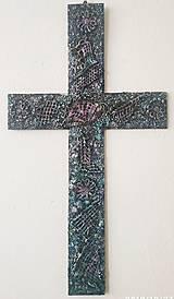 Obrazy - Dekoračný kríž 60 cm - 11219761_