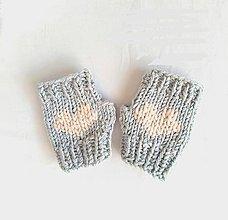 Detské doplnky - Detské bezprstové rukavičky - 11220140_
