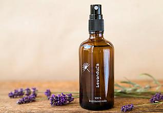 Drogéria - Levanduľová kvetinová voda (100 ml) - 11222818_