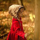 Detské oblečenie - Detský ľanový kabátik - 11222200_