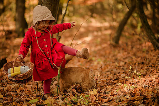 Detský ľanový kabátik (Ružová)