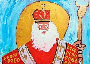 Papier - Andreas: Pohľadnice Vianoce  (Mikuláš) - 11219983_