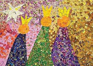 Papier - Andreas: Pohľadnice Vianoce  (Traja králi) - 11220015_